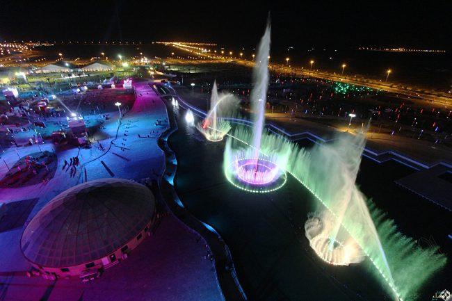 حديقة الملك عبدالله اماكن سياحية في الرياض