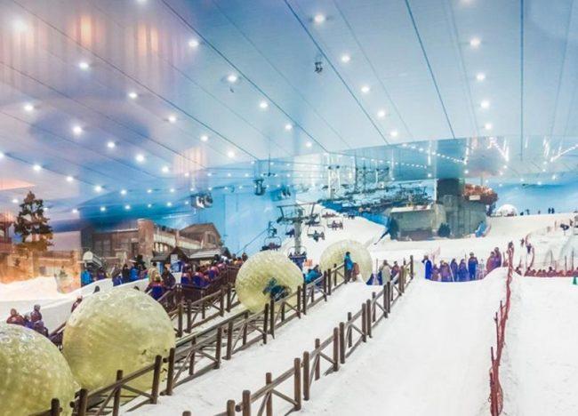 مدينة الثلج اماكن سياحية في الرياض