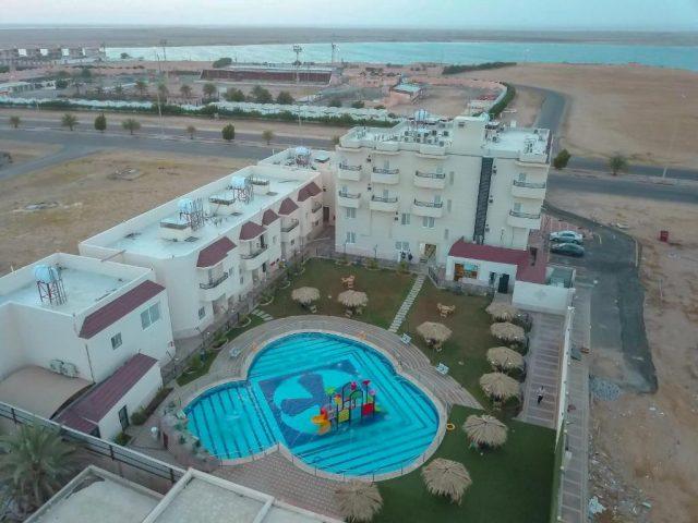 منتجع شاطىء الهدوء فنادق ينبع على البحر