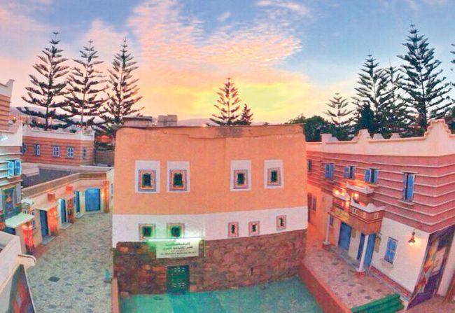 قرية المفتاحة السياحة في أبها