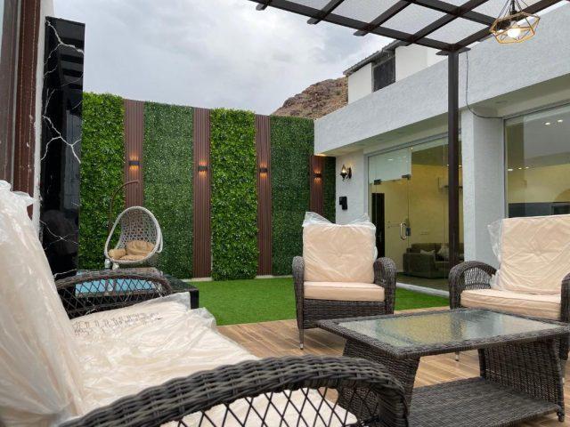 فيلا Luxury OVO Roof فلل للايجار بالطائف